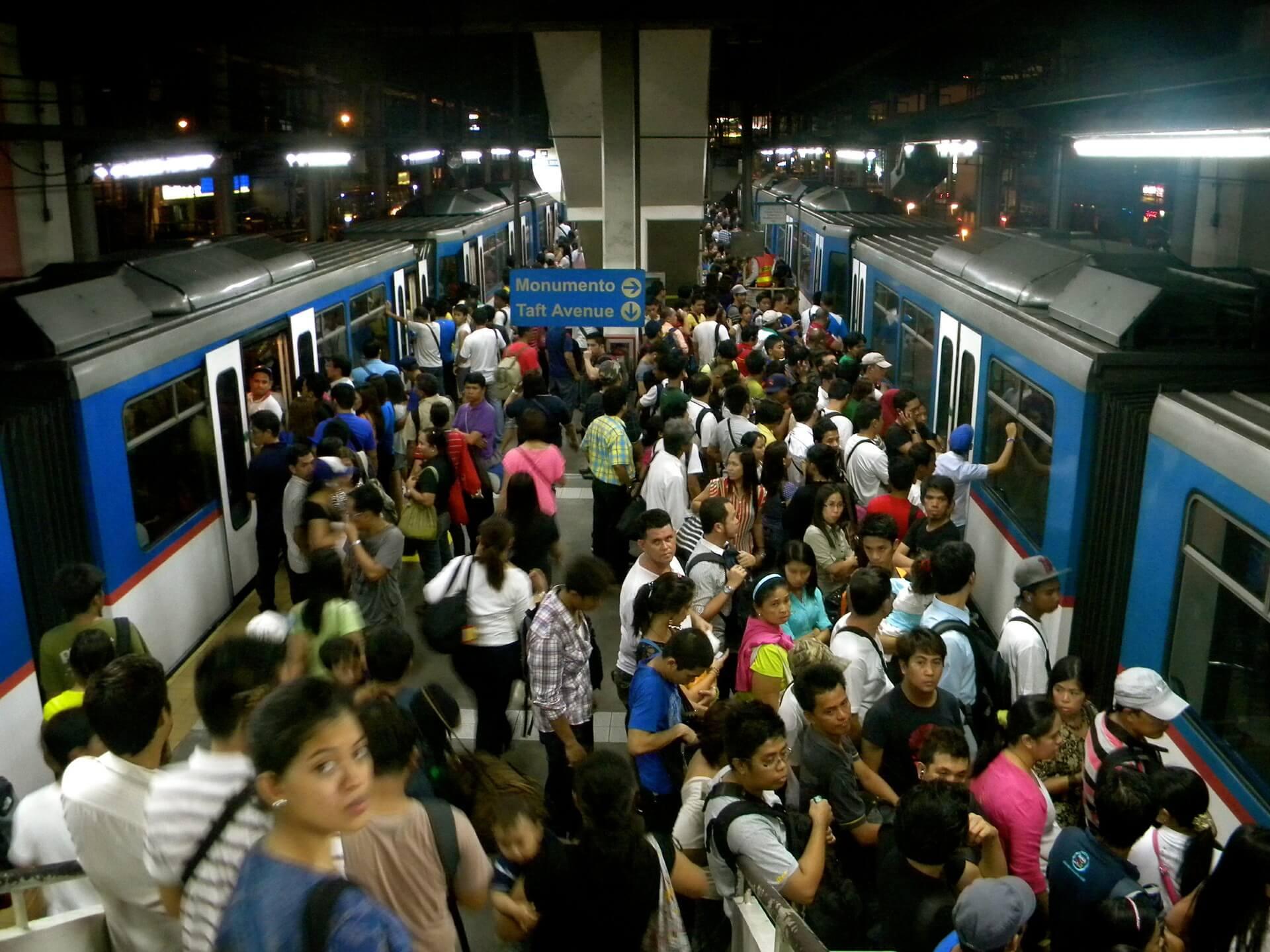 Commuter rush